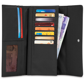 Pacsafe RFIDsafe LX200 Clutch Brieftasche Damen black